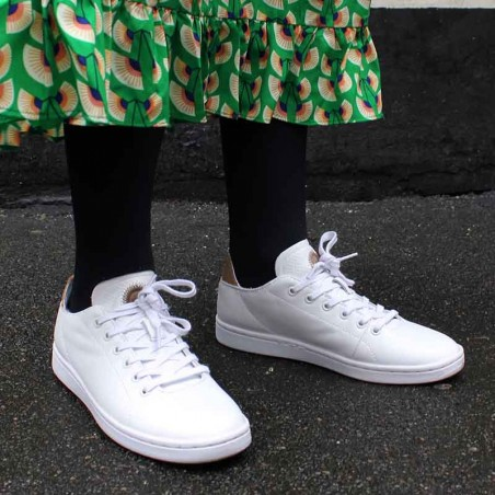Woden Sneakers, Jane Leather, Bright White look