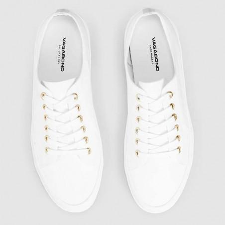 Vagabond Sneakers, Joan W, White ovenfra