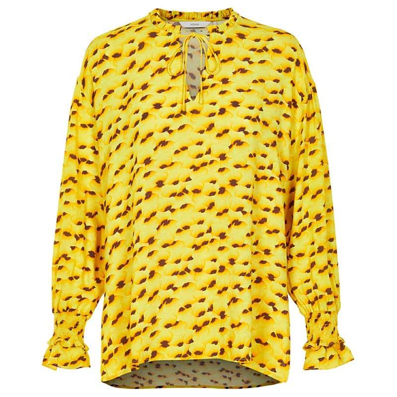 Nümph Bluse, Kamilah, Yellow Pear