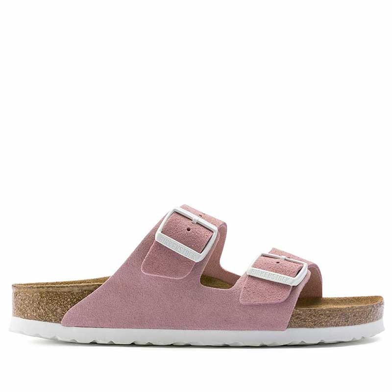 Birkenstock Sandaler, Arizona Blød Fodseng, Rose side