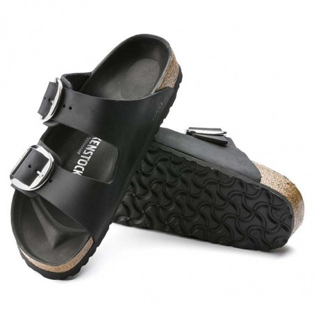 Birkenstock Sandaler, Arizona Big Buckle, Black underside