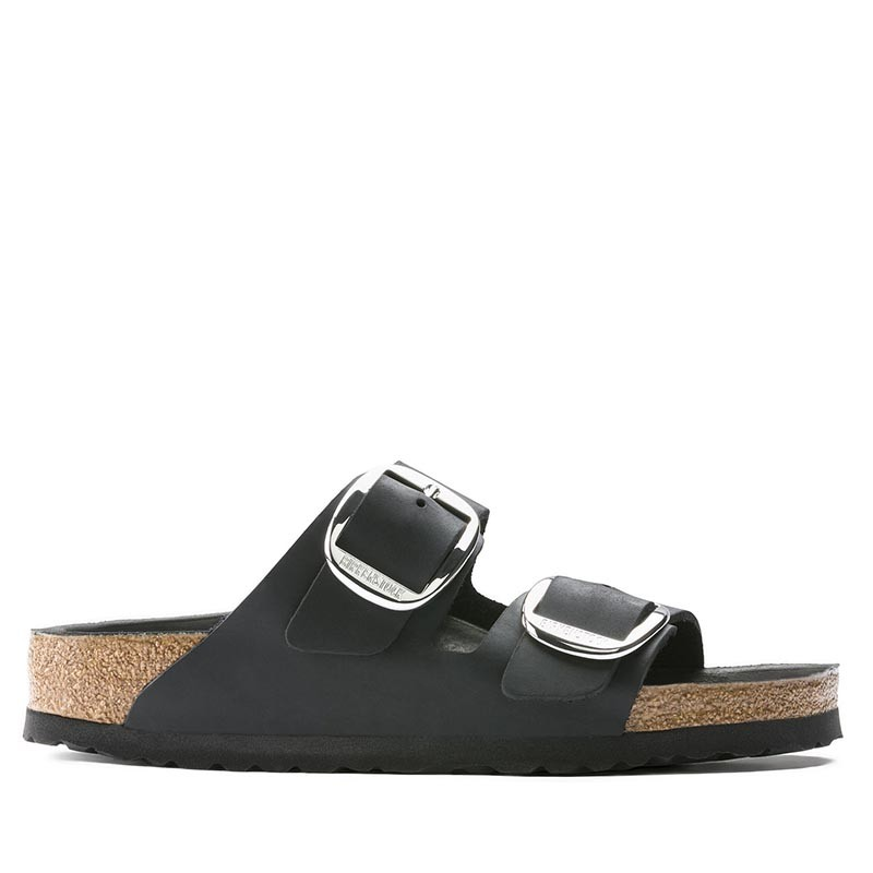 Image of   Birkenstock Sandaler, Arizona Big Buckle, Black