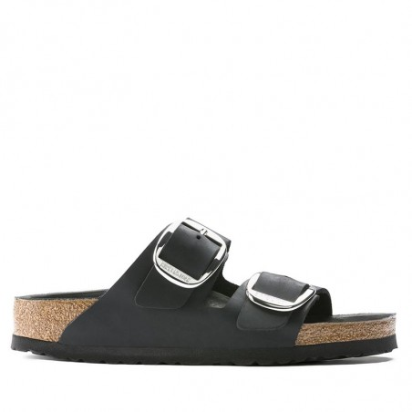 Birkenstock Sandal, Arizona Big Buckle, Black side