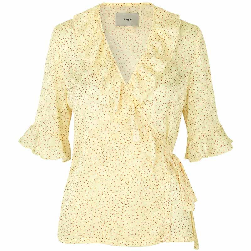 Stig P Bluse, Catie, Light Yellow
