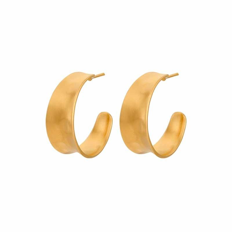 pernille corydon – Pernille corydon øreringe, saga, guld på superlove