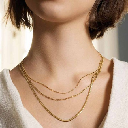 Pernille Corydon Halskæde, Thea, Guld model