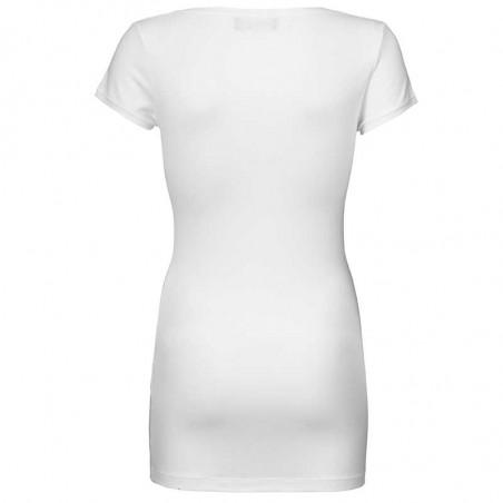 Modström T-shirt, Trick, Hvid bagfra