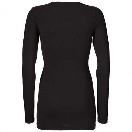 Modström, Turbo T-shirt, Sort bagfra