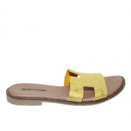 Mentor Sandaler, W7944, Yellow