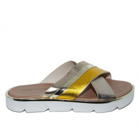 Mentor Sandaler, W7930, Gold Yellow
