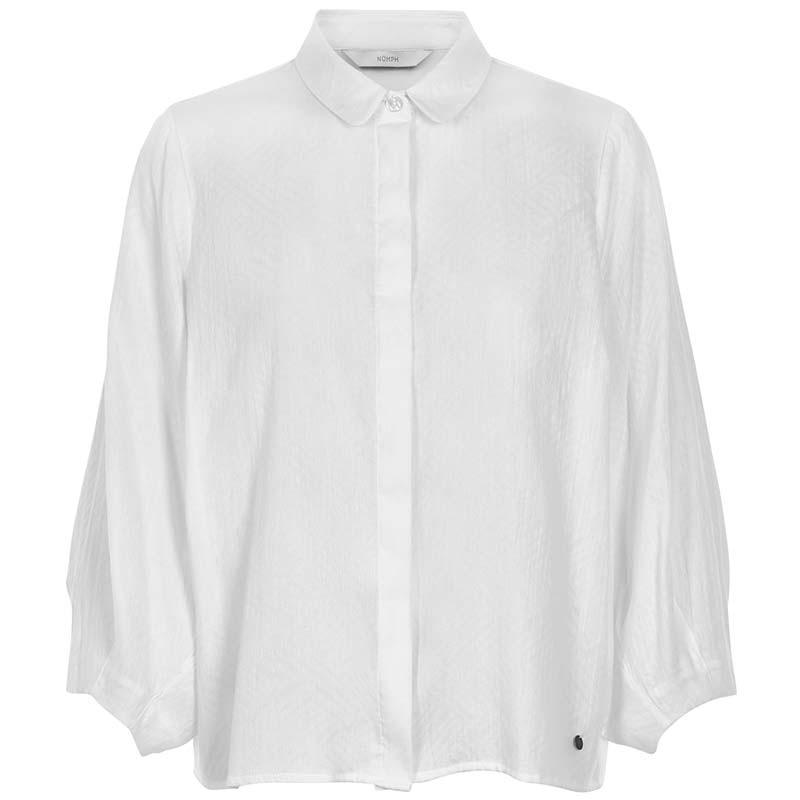 Nümph Skjorte, Kennedi, Bright White