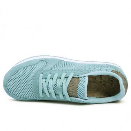 Woden Sneakers, Ydun Mesh NSC, Cloudy Green ovenfra