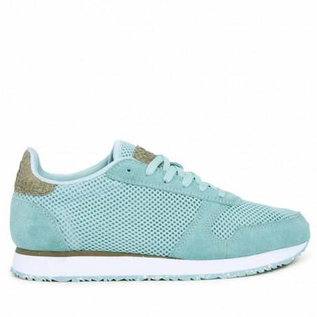 Woden Sneakers, Ydun Mesh NSC, Cloudy Green