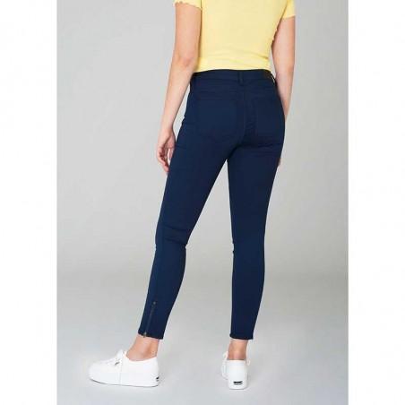 2nd ONE Jeans, Nicole Zip 006, Navy bagside