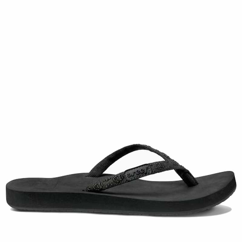 Reef, Ginger Sandaler, Black/Black