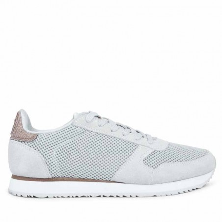 Woden Sneakers, Ydun Mesh NSC, Sea Fog Grey