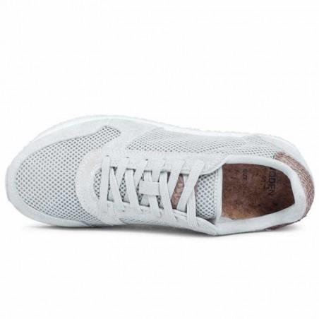 Woden Sneakers, Ydun Mesh NSC, Sea Fog Grey top
