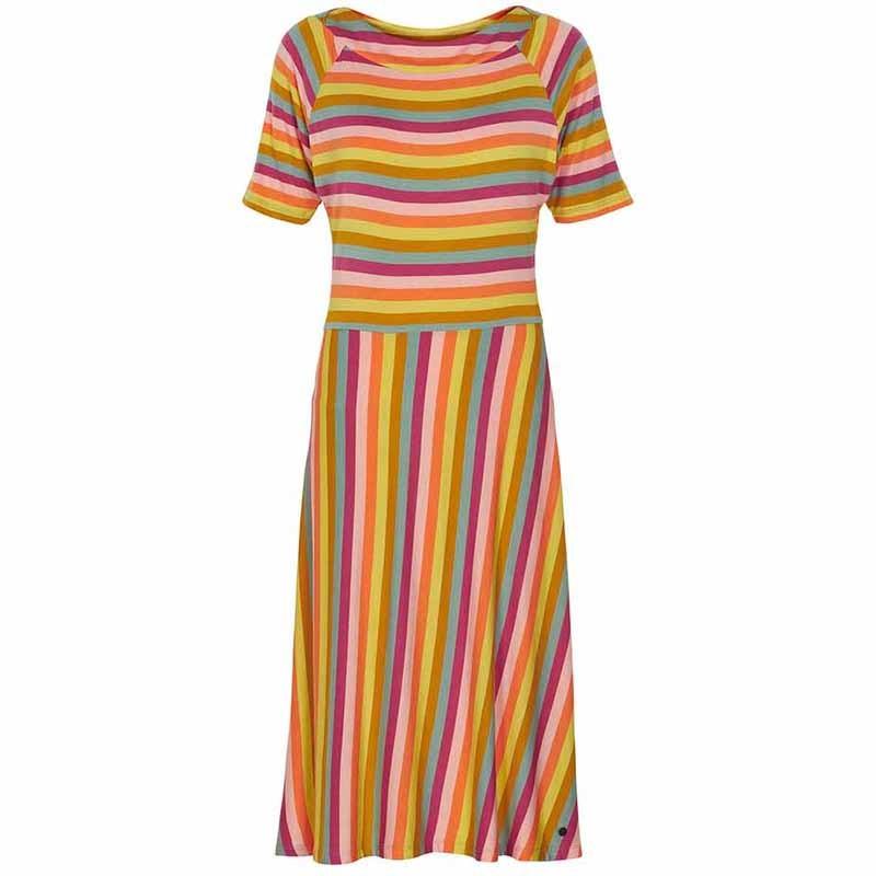 Nümph Kjole, Kora Knit, Multi Stripe
