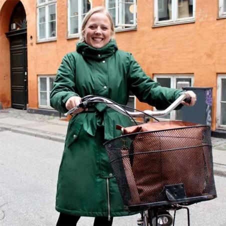 Danefæ Regnjakke, Bornholm Winter, Dark Khaki model