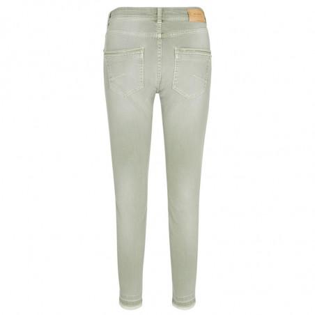 Mos Mosh Jeans, Sumner Soft, Sage Green - Bagside