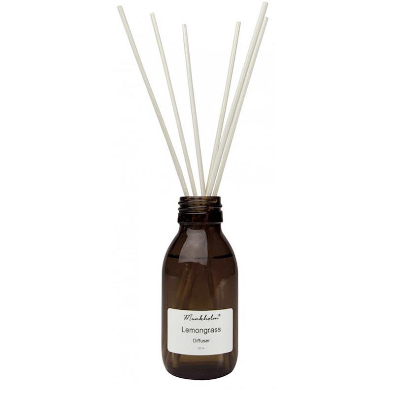 Munkholm Duftpinde, Lemongrass, 100ml Munkholm diffuser