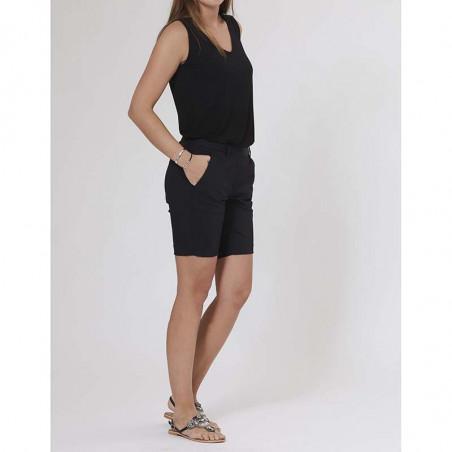PBO Beck Shorts, med stretch,  Black