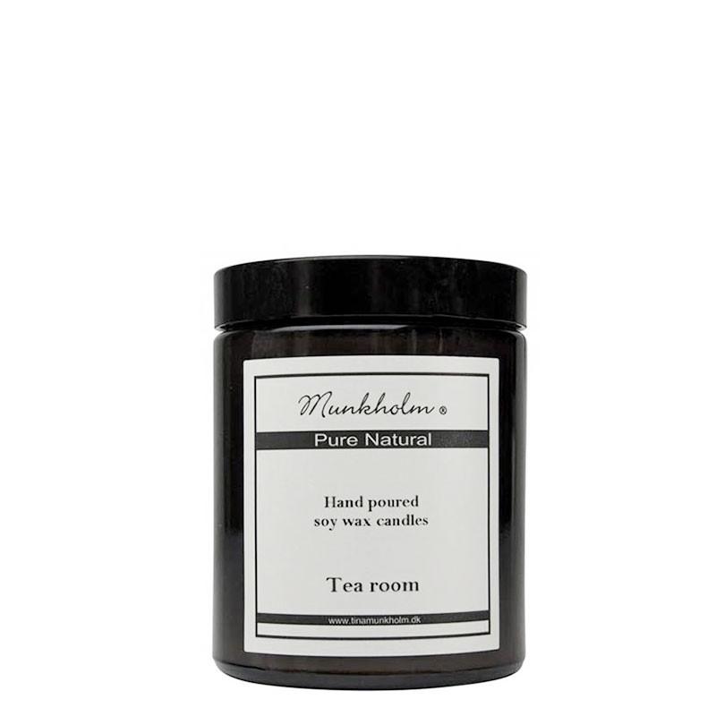 Munkholm duftlys, tea room, 180ml fra munkholm fra superlove