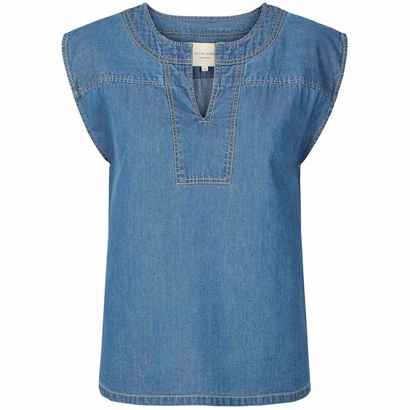 Lollys Laundry Top, Paloma, Blue
