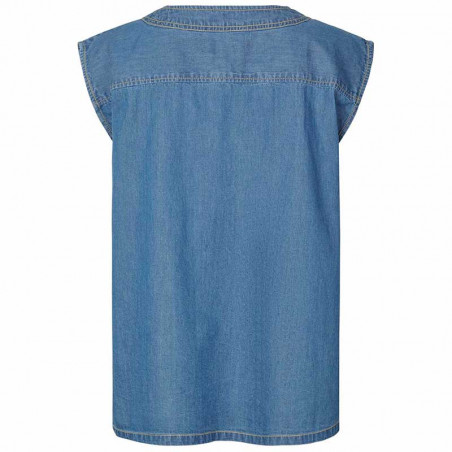 Lollys Laundry Top, Paloma, Blue bagside