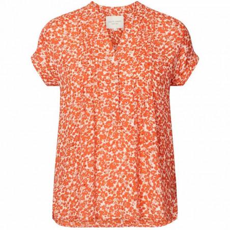 Lollys Laundry Bluse, Heather, Orange