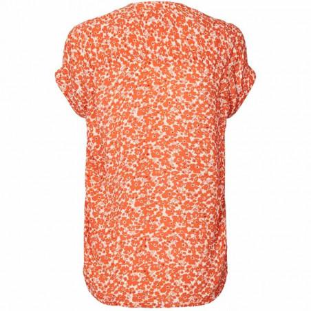 Lollys Laundry Bluse, Heather, Orange bagside