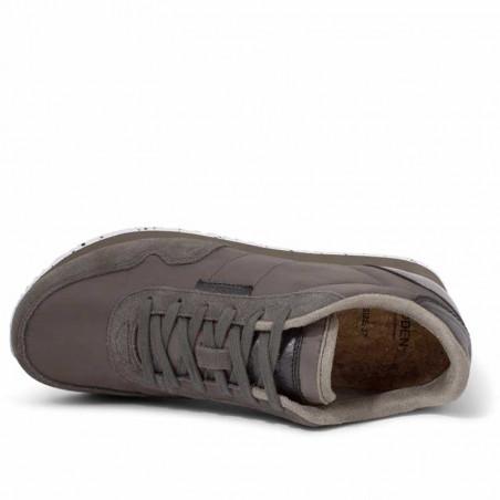 Woden Sneakers, Nora II, Brown Clay ovenfra
