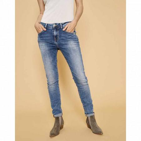 Mos Mosh Jeans, Bradford Vintage, Light Blue Denim forside