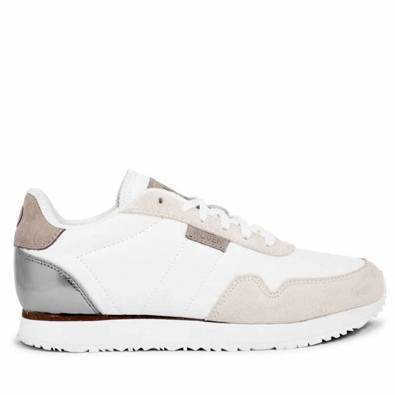 Woden Sneakers, Nora II, Bright White Ny