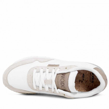 Woden Sneakers, Nora II, Bright White Ny top