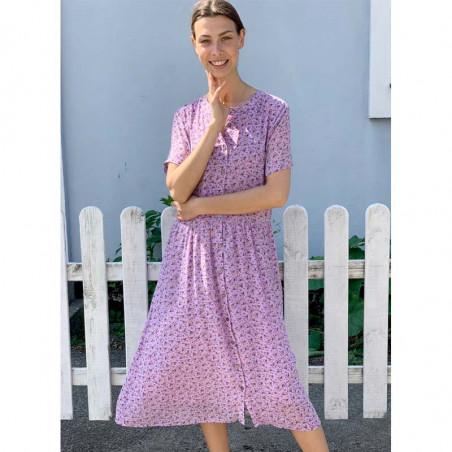 Lollys Laundry Kjole, Aliya, Lavender model
