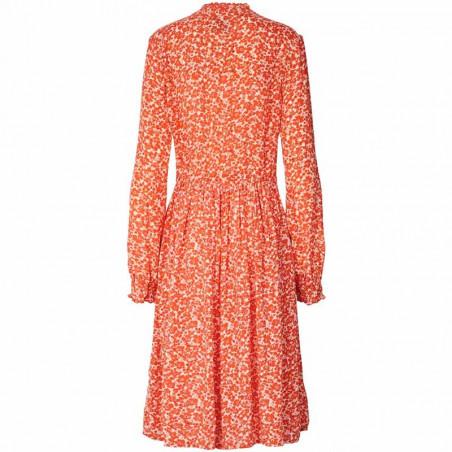 Lollys Laundry Kjole, Sienna, Orange bagside