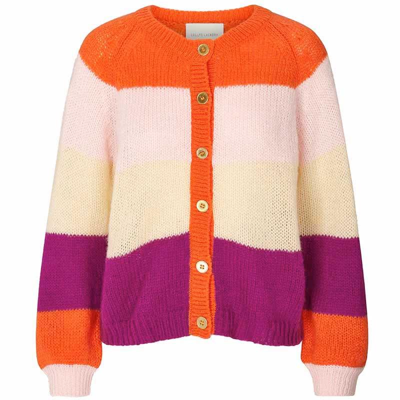 Lollys Laundry Cardigan, Nova, Orange