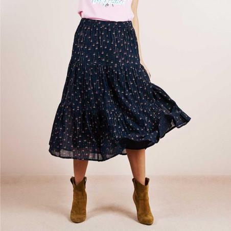 Lollys Laundry Nederdel, Morning, Black model