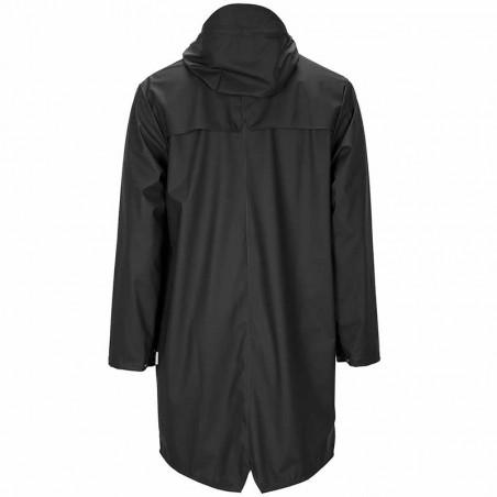 Rains Regnjakke, Lang, Black bagside