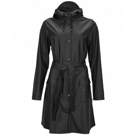 Rains Regnjakke, Curve, Black