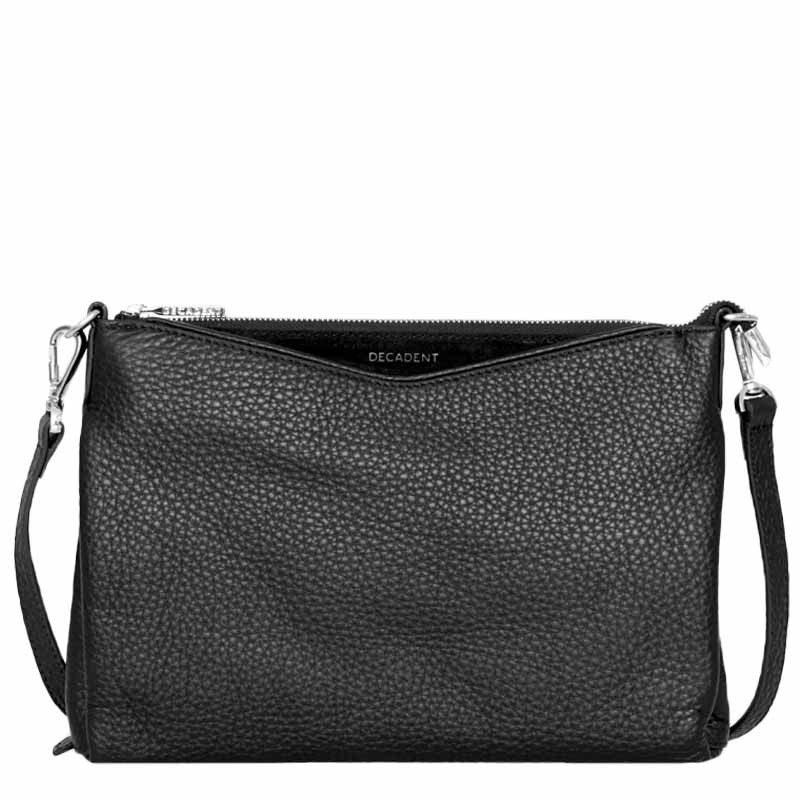 Image of   Decadent Taske, Claire Big Cross Body, Black