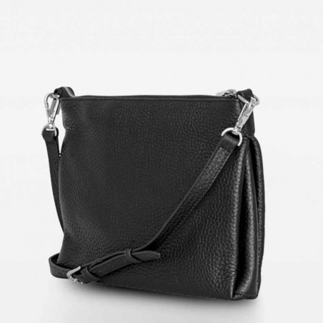 Decadent Taske, Claire Big Cross Body, Black bagside