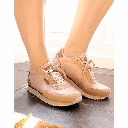 Woden Sneakers, Nora II, Blush look