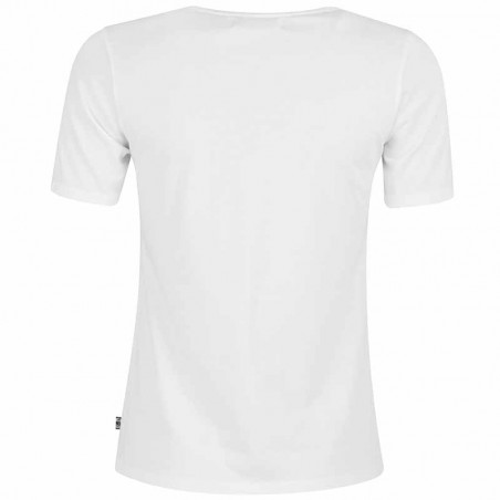 Danefæ T-shirt, Scoop Neck, Off White - Bagside