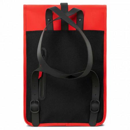 Rains Rygsæk, Backpack Mini, Red - bagside