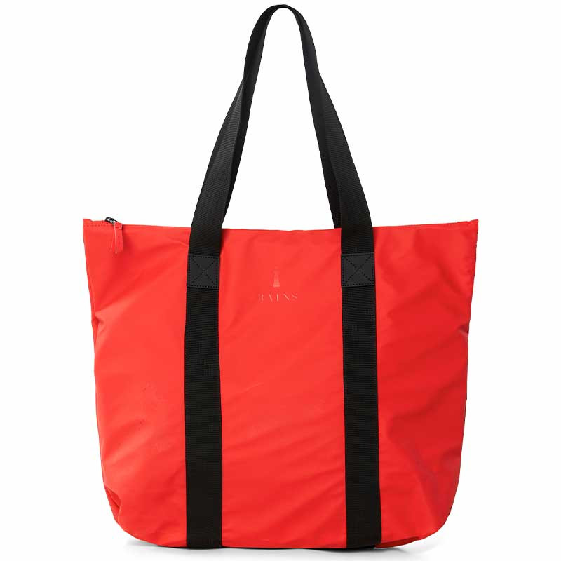 Image of   Rains Taske, Tote Rush, Red