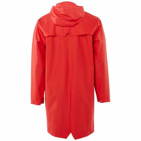 Rains Regnjakke, Lang, Red - bagside