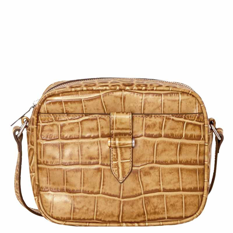 Image of   Decadent Taske, Carly Crossover, Crocco Cognac