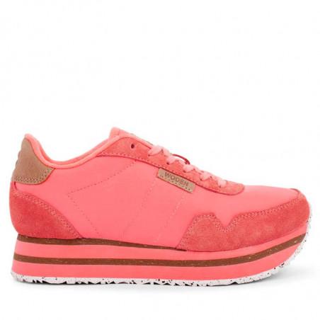Woden Sneakers, Nora II Plateau, Sugar Coral